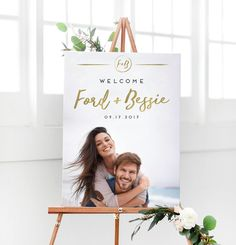 Items similar to Wedding Photo Welcome Sign - Gold Wedding Reception Sign - Gold Welcome Sign for Modern Wedding Signage on Etsy Wedding Reception Layout, Wedding Reception Photography, Wedding Signage, Wedding Dj, Wedding Advice, Wedding Reception Decorations, Plan Your Wedding, Wedding Photos, Wedding Planning