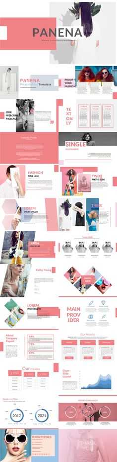 Panena #Multipurpose Template - Creative #PowerPoint #Templates Download here: https://graphicriver.net/item/panena-multipurpose-template/19308569?ref=alena994 Powerpoint Original, Slides Powerpoint, Powerpoint Poster, Template Power Point, Layout Template, Powerpoint Design Templates, Keynote Template, Powerpoint Presentation Ideas, Creative Presentation Ideas
