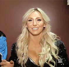 Charlotte Flair is happy to be partners with Bobby Roode.