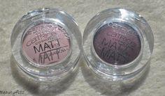 Catrice velvet matt eyeshadow 020 pink-up girls & 040 al burgundy |
