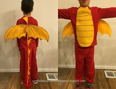 Sunshine and a Summer Breeze: Dragon Costume Tutorial