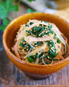やみつき♡ナムル風春雨サラダ【#作り置き #お弁当 #無限】 by Yuu 「写真がきれい」×「つくりやすい」×「美味しい」お料理と出会えるレシピサイト「Nadia | ナディア」プロの料理を無料で検索。実用的な節約簡単レシピからおもてなしレシピまで。有名レシピブロガーの料理動画も満載!お気に入りのレシピが保存できるSNS。