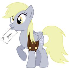 DERPY DAY   March 1st has is Derpy Day. It can be celebrated by:Eating muffins; Wearing gray; Making derpy eyes in mirrors and photos; Delivering letter by hand.