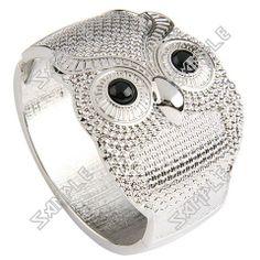 Personalized Owl Style Owl Jewelry, Jewelery, Women Jewelry, Ladies Jewelry, Fashion Bracelets, Bangle Bracelets, Fashion Jewelry, Bangles, Women's Accessories