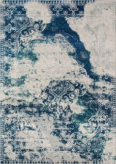 Momeni Loft Area Rug - This Blue rug would make a wonderful addition to any room. Learn why many others select to buy from RugStudio Contemporary Area Rugs, Patterned Carpet, Modern Carpet, Carpet Design, Indoor Outdoor Rugs, Beige Area Rugs, Rugs On Carpet, Stair Carpet, Hall Carpet