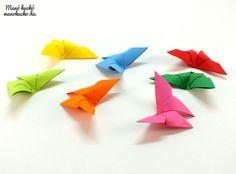 Pillangó hajtogatás lépésről lépésre - Manó kuckó