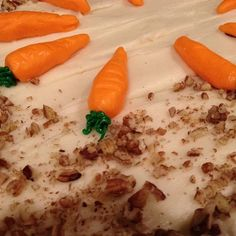 Carrot Cake Recipe Easy - Recipe How To Make Frosting, Best Cake Recipes, Confectioners Sugar, Carrot Cake, Raisin, Baking Soda, Carrots, Pineapple