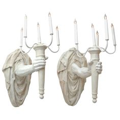 sconces: would you give your right arm for these?