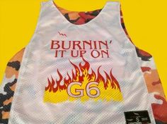 shop Burnin it Up on G6 Pinnies - Camo Pinnies - G6 Pinnies - Saint Louis Missouri Pinnies