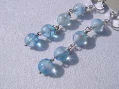 Diese Glas Tropfen sind das helle türkisfarbene Himmelblau mit kleinen Wölkchen für dich auch ohne Sonne! Kennst du auch den Ausspruch, die Sonne s...
