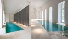 10 moderne und luxuriöse Innenschwimmbäder | Wohn-DesignTrend