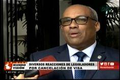 Legisladores hacen diferentes comentarios sobre el visado cancelado del Magistrado Roberto Rosario