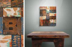 Untitled® Magnetically Modular Wood Decor Tiles | Example Photos