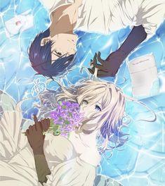 Violet Evergarden Wallpaper, Violet Evergreen, Jaiden Animations, Violet Evergarden Anime, Japanese Animated Movies, Hotarubi No Mori, Anime Reccomendations, Kyoto Animation, A Silent Voice