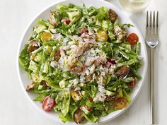 Crab and Avocado salad #Food Network #Healthy dinners in 30 minutes or less