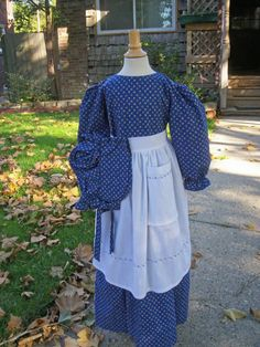Girls Old fashion  Dress/Pioneer  bonnet and by AshleysAttic, $52.00