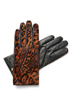 C. Wonder Calf Hair Leather Gloves, $98, available at C. Wonder.