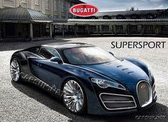 Bugatti Supersport -Em