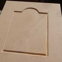 How To Route Decorative Pattern Or Design Into Mdf Cabinet Cupboard Door Finished