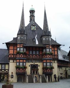Wernigerode Town Hall-Rathaus, Germany