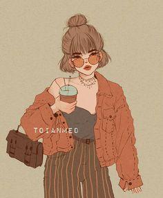 skizzen zeichnen Toianmed – Keep up with the times. We're here for you. Pretty Art, Cute Art, Bel Art, Art Du Croquis, Art Mignon, Drawn Art, Art Anime, Art Et Illustration, Digital Art Girl
