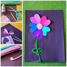 Paint Sample Flower