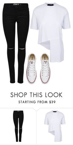 """""""Almost"""" by maritkrijt ❤ liked on Polyvore featuring Converse"""