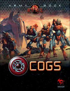 La couverture officielle de l'Army Book Cogs !