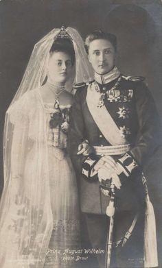 Prince August Wilhelm and Princess Alexandra Victoria