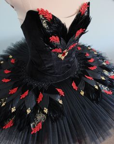 Black swan commission for Ashley Bouder, DQ DESIGNS tutus and more beautiful ballet tutu Swan Lake Costumes, Tutu Costumes, Ballet Costumes, Mouse Costume, Couple Costumes, Disney Costumes, Adult Costumes, Halloween Costumes, Fast Fashion