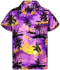 Option for Tropical Shirt; week 3 Mens Hawaiian Shirts, Aloha Shirt, Hawaiian Print, Casual Button Down Shirts, Button Downs, Men Casual, Mens Tops, Tropical, Men Styles