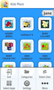 Kids Place - Controle Parental– miniatura da captura de ecrã