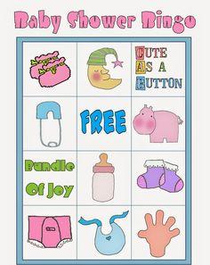 Bingo para Baby Shower para Imprimir Gratis. Bingo Baby Shower, Baby Shower Printables, Free Printables, Diy Baby Shower Decorations, Frozen Bebe, Baby Shawer, Short Hair With Layers, Blogger Templates, Crepes