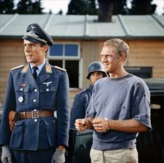Steve McQueen | The Great Escape | 1963 | as Hilts 'The Cooler King'