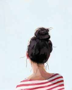 elizabeth-mayville-painting-portrait-art-print-etsy-8-- love this artist but this is a perfect example of ballerina fashion!