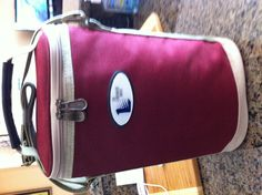 Wine cooler bag with corkscrew & wine bottle stopper by The Landmark Image Very cool!