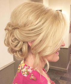 Mother Of The Bride Bouffant Updo