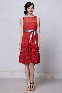 Caridad Ruffled Dress | Green Wedding Shoes Wedding Blog | Wedding Trends for Stylish + Creative Brides