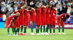 EQUIPOS DE FÚTBOL: SELECCIÓN DE PORTUGAL contra Chile 28/06/2017 Copa Confederaciones