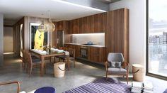 Apartamento 100m² - cozinha - Interiores Iguaçu - Smart - POA/RS/Brasil Projeto: Maena _ www.maena.com.br