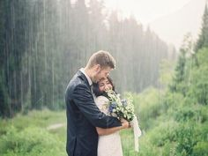 Who Needs an Umbrella? - Picture Proof That Rain Won't Ruin Your Wedding - Photos