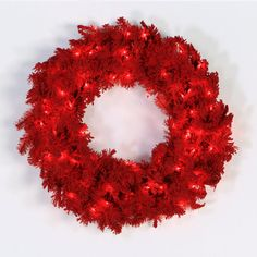 Found it at Wayfair - Flocked Pine Wreath