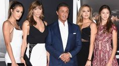 Sylvester Stallone Shows Off His Stunning Daughters at 'Creed' Premiere #Mega #Intense #Chandeliers