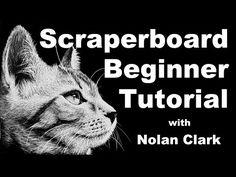 how to scratchboard - scratchboard drawing tutorial - scraperboard lesson Chuck Close Art, Landscape Art Lessons, Classe D'art, High School Art Projects, Scratchboard Art, 8th Grade Art, Mandala Art Lesson, Scratch Art, Perspective Art