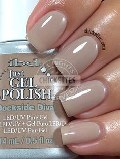 quenalbertini: ibd Just Gel Polish Social Lights Collection - Dockside Diva Ibd Just Gel Polish, Gel Polish Colors, Gel Nail Polish, Get Nails, How To Do Nails, Gel Nagel Design, Gelish Nails, Shellac, Vernis Semi Permanent