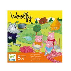 Jeu de société Woolfy Djeco pour enfant de 5 ans à 9 ans - Oxybul éveil et jeux