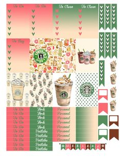 planner layouts stickers - Google Search