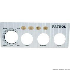 Overlay, Pres Air Trol Patrol, 3 Button