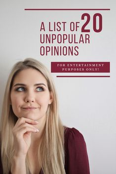 Unpopular Opinions are merely opinions by people who believe there are some things that can go against the conventional ideas or the status quo in society. We all have one of these. Your Smile, Make You Smile, I Meet You, Told You So, Closed Minded People, Objectification Of Women, Respect Is Earned, Unpopular Opinion, Law Of Attraction Money