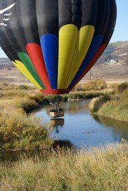 Pegasus Balloon tour Steamboat Springs CO